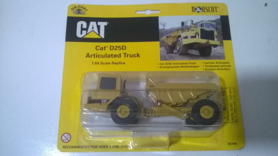 Miniatura 1/64 Norscot Cat D25d Articulated Truck