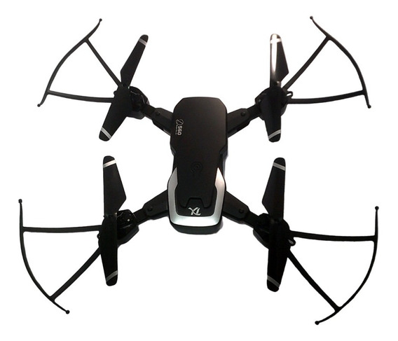 Drone Kit Cam Full Hd 3 Bat Estojo Chave 2 Hel Ext.