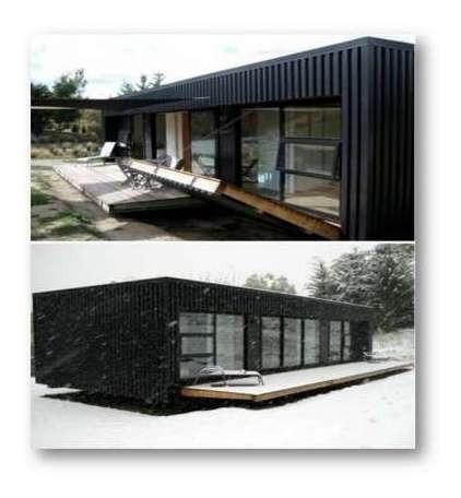 Quincho Contenedor Casa Loft Quinta 30 Mts 35