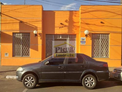 Salão Comercial Para Locação Com 50 M² - Centro - Sumaré/sp - Sl0820