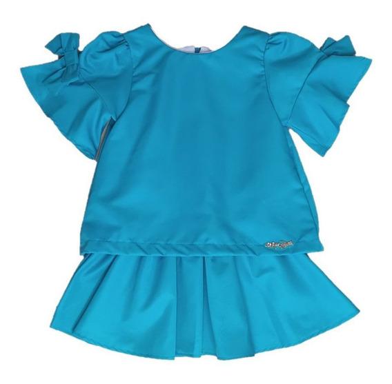 Vestido Infantil Mon Sucré Monrraial 288