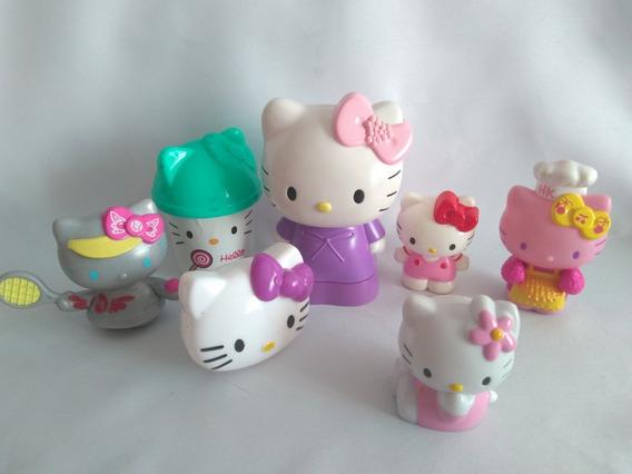 Lote 6 Bonecas Hello Kitty Mc Donalds Usadas Ler Anúncio 1 $