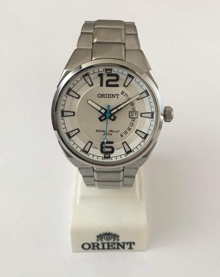Relógio Orient Mbss1336 Aço C/ Calendário