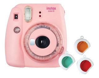 Cámara Instantánea Fujifilm Instax Mini 9 Rosada (13538)