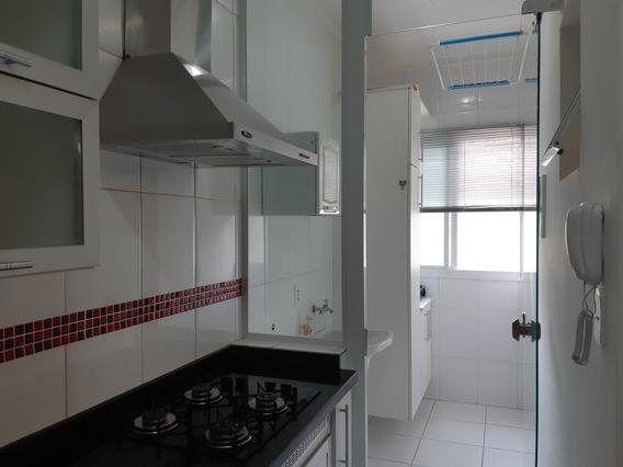 Vendo Apartamento 2 Dormitórios Mobiliado E Com Garagem