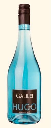 Vinho Azul Galillei Hugo Blue Berry And Mint 750 Ml