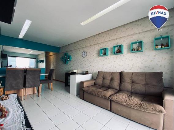 Apartamento Rio Lena, 2 Dormitórios, 72 M² - Pedreira - Belém/pa - Ap0566