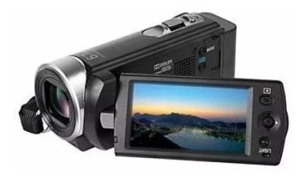 Filmadora Sony Handycam Dcr-sx21 Zoom 67x Top De Linha