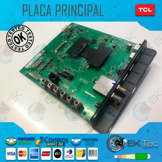 Placa Principal Tv Tcl L49s4900fs Original Testada
