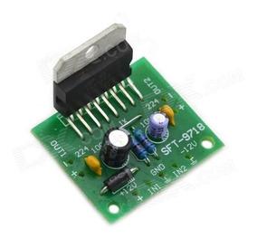 Placa Do Amplificador Tda7297 Dc 12 V