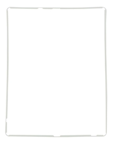 Moldura Aro Middle Frame Display iPad 2 3 4 Branco