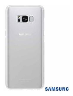 Samsung - Capa Clear Cover + Película Original S8 Plus