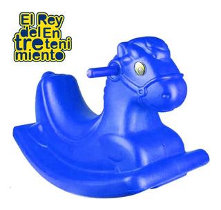Caballito Balancín Mecedor Hamaca Plástico P/ Niño - El Rey