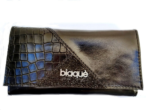 Billetera Fichero Paris Blaque By Showroom Ibbags