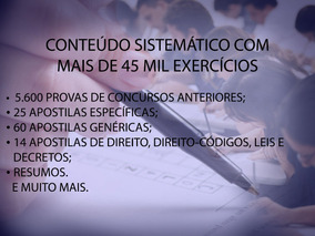 Kit De Apostilas Para Concursos Públicos