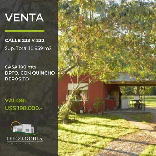 Quinta De 1 Has. Con Casa Lobos - Hermosa Zona