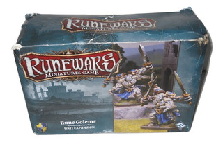 Runewars Miniatures Game Rune Golems Unit Expansion Fantasy
