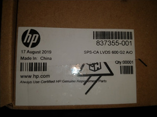 Hp Cable Sps-ca Lvds 600 G2 Aio 837355-001