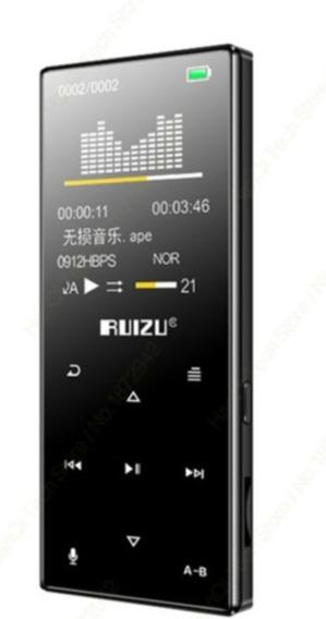 Mp4 Ruizu D29 16g Bluetooth + Fone Bluetooth Xt11 + Case