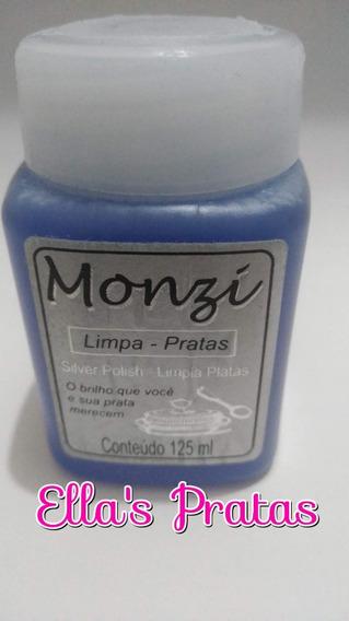 Limpador De Prata Monzi Original 125 Ml Grande Promoção !!!!