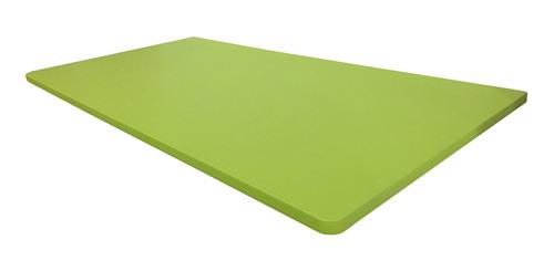 Mesa Dobrável Parede Bancada Mdf Verde Limão 60x45cm