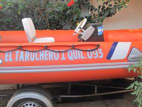 Semirrigido 450 Fishure Matriculado Motor Suzuki 40hp