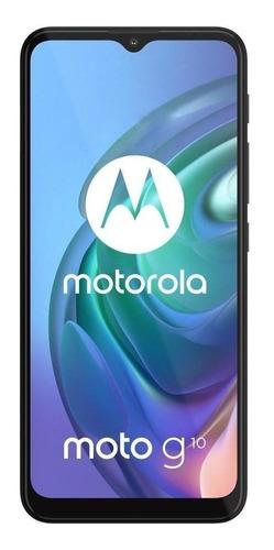 Imagem 1 de 7 de  Moto G10 Dual SIM 128 GB cinza-aurora 4 GB RAM