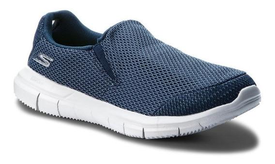 zapatillas skechers azul marino para enfermera