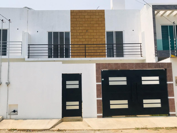 Maravillosa Y Esencial Casa Nueva Con 4 Recamaras
