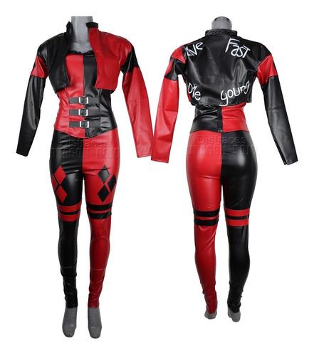 Imagen 1 de 2 de Disfraz Harley Quinn Adulto Escuadron Suicida Suicide Squad