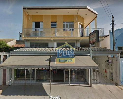 Salão Comercial Para Locação Com 250 M² - Jardim Sumarezinho - Hortolândia/sp - Sl0675