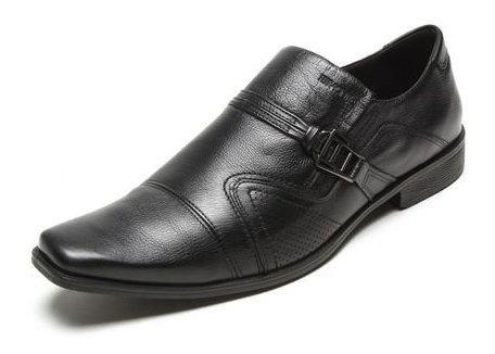 Sapato Social Masculino Ferracini Couro Preto 5065-223g