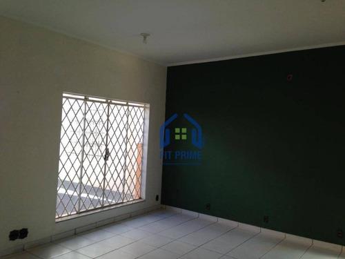 Casa Para Alugar, 120 M² Por R$ 2.500,00/mês - Centro - São José Do Rio Preto/sp - Ca2027