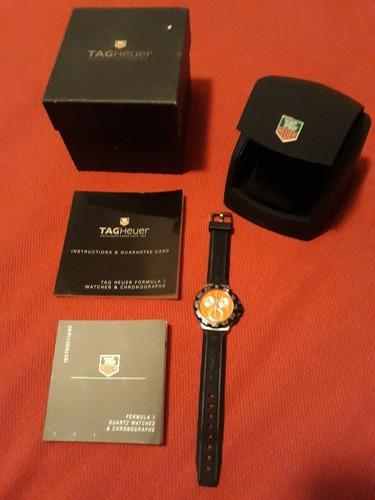 Relógio Tag Heuer Formula 1 Orange Original