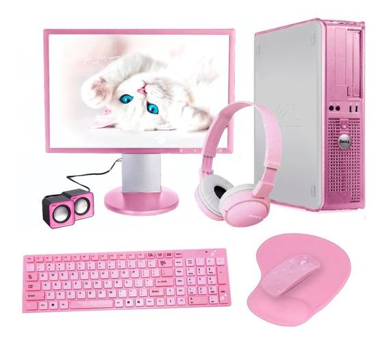 Computador Blogueira Rosa Rosé Edição Limitada