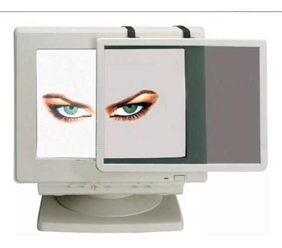 Filtro Pantalla Monitor Cristal Vidrio Negro Basico 14