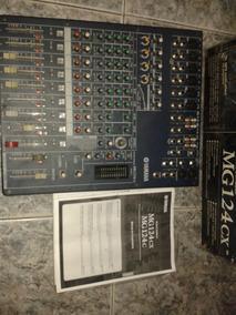 Mesa De Som Yamaha 124 Mg E Microfone