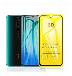 Película D Vidro Full 9d Xiaomi Redmi Note 8 Pro