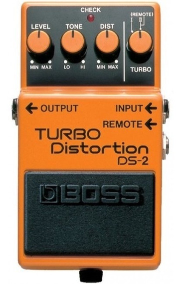 Pedal De Guitarra Electrica Pedal Turbo Distorsion Ds2 Boss