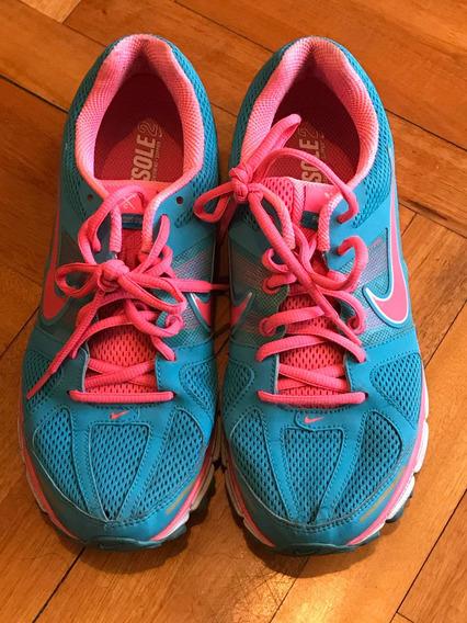 Zapatilla Nike Usada Fluo N* 38