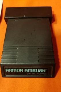 Juego Armor Ambush Con Manual Atari Raro -local A La Calle