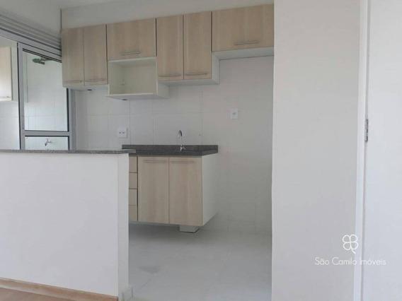 Apartamento Com 2 Dormitórios À Venda, 47 M² Por R$ 210.000 - Villas Da Granja - Granja Viana - Carapicuíba/sp - Ap0057