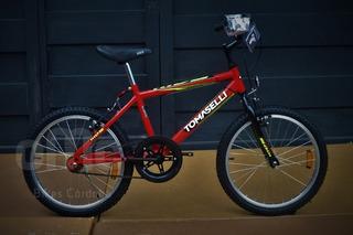Bicicleta Tomaselli Kids R.20 ( Entrega Gratis Cba)