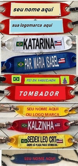 Peitoral 16 Cordas Personalizado + Cilha Cavalgada Vaquejada