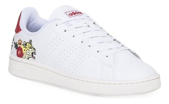 Zapatilla adidas Advantage Blanco Flores