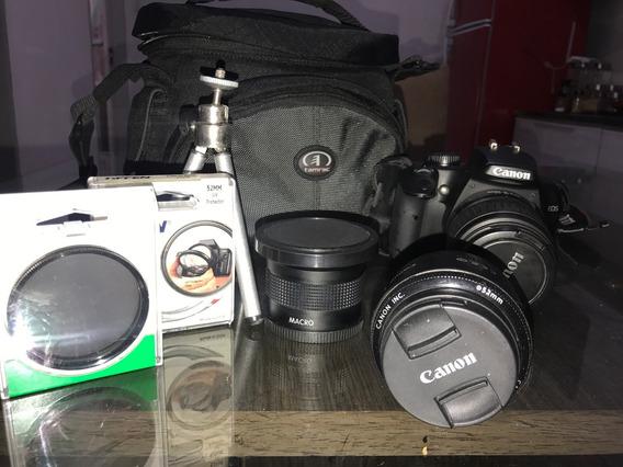 Câmera Profissional Cânon 1000d