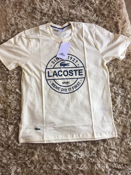Camisetas Lacoste E Tommy Hilfiger