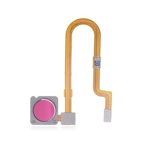 Flex Leitor Biométrico Digital Mi 8 Lite Xiaomi Vermelho