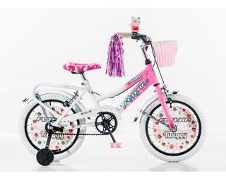 Bicicleta Twiggy Nena Cod 4045 Rod 16 Futura