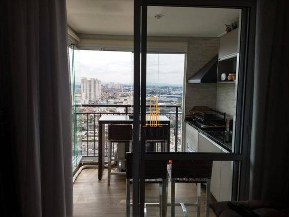 Apartamento Residencial À Venda, Planalto, São Bernardo Do Campo. - Ap1042